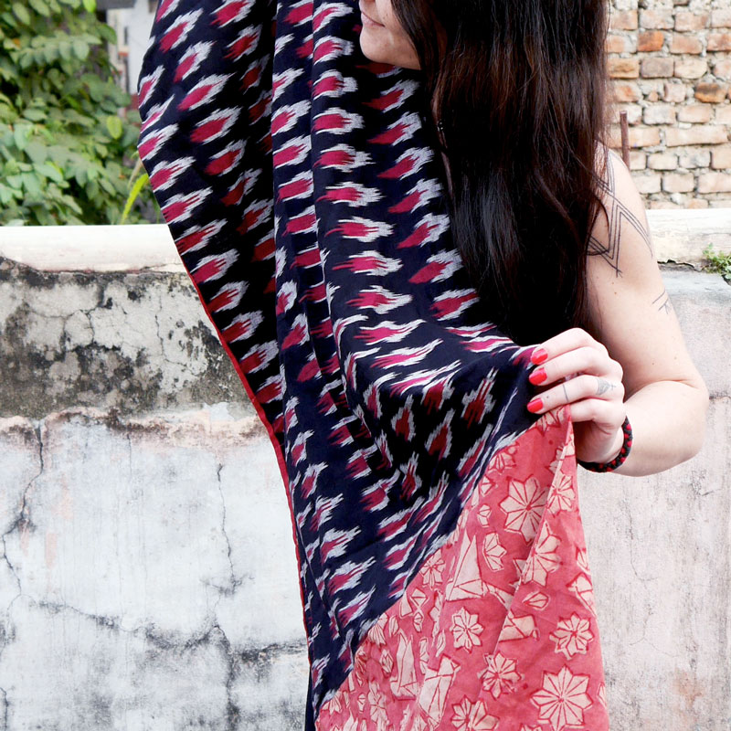 Scarf 'Unfold Your Wings'